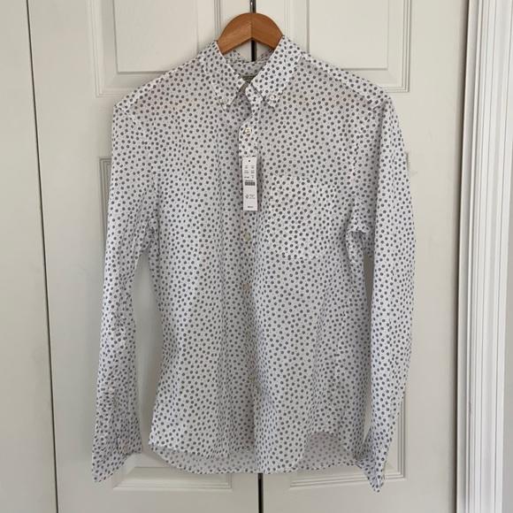 NWT J. Crew Men's cotton Button-down Shirt